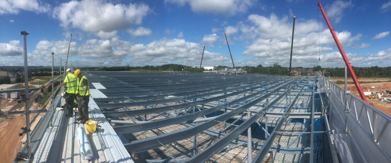 Industrial Roofers Exeter and Devon - SPS Roofing Ltd